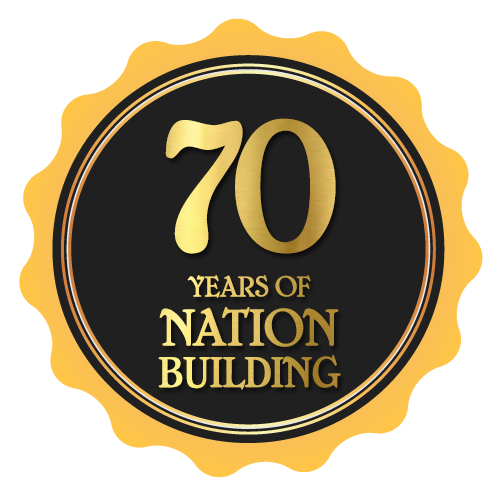 70 years of nation building